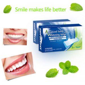 Advanced Teeth Whitening Strips (Dental Whitestrips) - v lekárni - test - cena