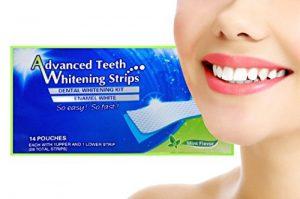 Advanced Teeth Whitening Strips (Dental Whitestrips) - ako to funguje - Amazon - účinky