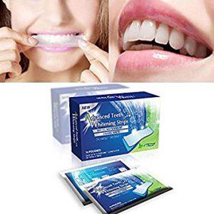 Advanced Teeth Whitening Strips (Dental Whitestrips) - Recenzia - feeedback - mienky