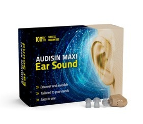 Audisin Maxi Ear Sound - kúpa - test - cena