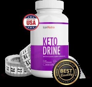 Icon Nutra Ketodrine - tablety - ako to funguje - Amazon