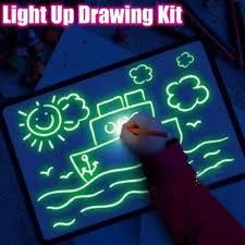 Fluorescent Drawing Board - magická kresba - cena - ako to funguje - Amazon