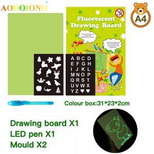 Fluorescent Drawing Board - užitočný - v lekárni - ako použiť