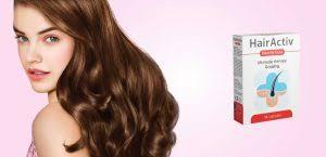 HairActiv - pre rast vlasov - účinky - kúpiť - Slovensko