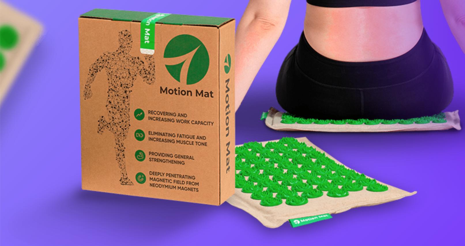 Motion Mat - ako pouziva - recenzia - davkovanie - navod na pouzitie