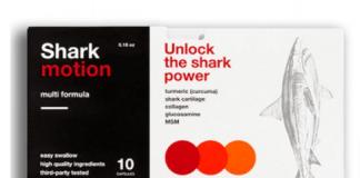 Shark Motion - ako pouziva - davkovanie - navod na pouzitie - recenzia